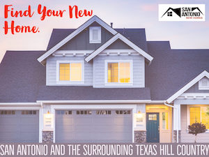 Ad for San Antonio New Homes